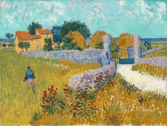 """Vincent van Gogh (1853-1890), """"Farmhouse in Provence"""" - National Gallery of Art ~ Washington, DC, USA"""