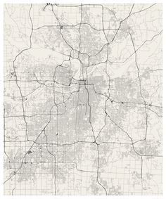 A giant wall map of Kansas City