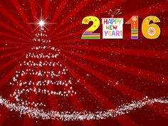 Happy New Year 2016: Goodbye 2015 welcome New Year 2016 Wallpaper HD