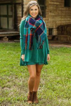 By The Fireside Dress-Bayou