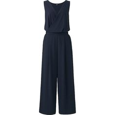 Jumpsuit. Add blazer or scarf if weather is chilly. Will also add pop of color.