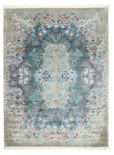 China silk 120 Line carpet 277x364