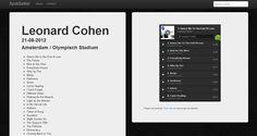 Spotisetlist, revive los conciertos de tus artistas favoritos a través de Spotify  http://www.genbeta.com/p/71081