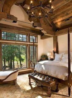 Miraculous 74 Best Log Home Bedroom Images In 2019 Dream Bedroom Download Free Architecture Designs Pendunizatbritishbridgeorg