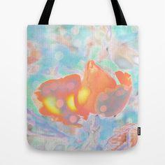 Zero gravity. Tote Bag by Mary Berg - $22.00 #totebags #society6 #blue #orange #women
