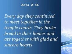 acts 2 46 they broke bread in their homes powerpoint church sermon Slide03http://www.slideteam.net