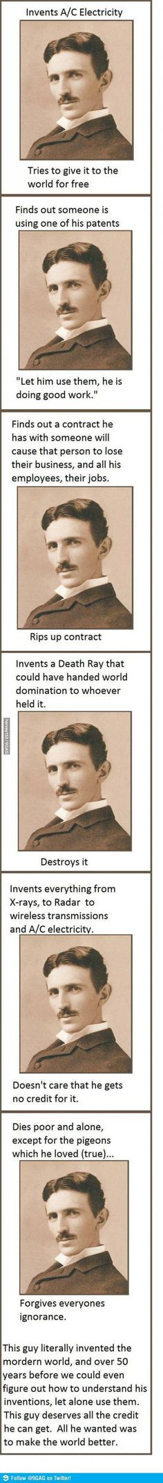 Tesla...the most amazingly intelligent man