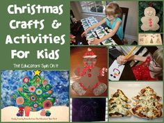 New Post christmas projects for elementary students