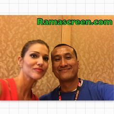 Rockin' it with Dawn Olivieri at #comiccon #sdcc #sdcc2016 #comiccon2016 #dawnolivieri #lucifer