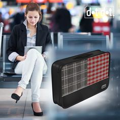1-piece Large Packing Cube in Black. For more information visit:  http://dotdottravel.com/largecubes