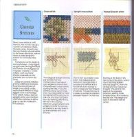 """ru / Orlanda - Альбом """"The Encyclopedia of Embroidery Techniques(Pauline Brown)"""" Bargello Needlepoint, Needlepoint Stitches, Needlework, Ribbon Embroidery, Cross Stitch Embroidery, Fun Activities For Kids, Crafts For Kids, Plastic Canvas Crafts, Embroidery Techniques"""