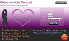Mail Mulaqaat is free online dating and matrimony site. View photos of singles in your area, see who's online now! Don't pay for personals, meet singles here for free. Free Dating,dating, personals, free dating, online dating, singles, matchmaking, l FREE access to millions of hotprofiles, access to live cams, videos, chat rooms and more. FREE browse vast photos.No payment involved. http://datematchlover.com/dating/