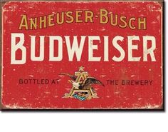 Budweiser Beer Ice Box MAGNET Refrigerator Kitchen Momcave Mancave