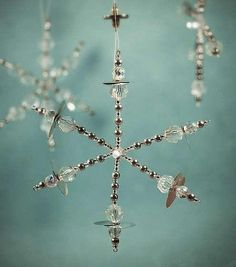 DIY some beaded snowflakes to embellish your home - Jewelry Making - Quora