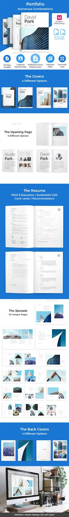 Portfolio / Corporate document cover page