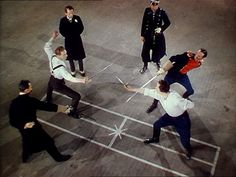 Roger Livesey and Anton Walbrook in 'The Life and Death of Colonel Blimp' (Powell & Pressburger, Love Movie, Movie Tv, Life And Death, Action Poses, Film Stills, The Life, My World, Cinematography
