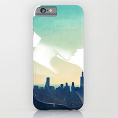 The Lady in the Sky iPhone & iPod Case