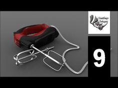Tutorial Rhino 3D | Modelar una Batidora en Rhinoceros modelado 3d YouTube
