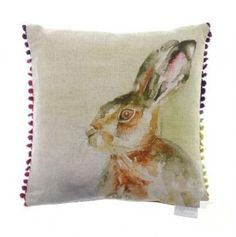 Voyage Maison Accessories - Hazel Hare country Cushion