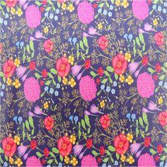 Tecido 100% algodão com estampa floral para patchwork e patchaplique, medindo 1 metro largura x 1,50 cm comprimento. Pode ser encomendado metragem maior. Nas compras acima de 1 metro o tecido irá em uma unica peça.