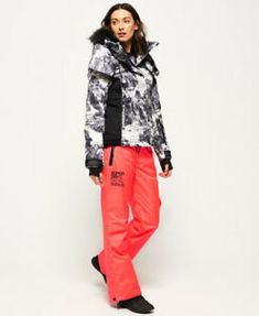 4b0cbc4c257 superdry snow pants come with zip and popper fastening