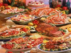 All-you-can-eat Seafood Buffet at the Rio. $40+