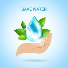 Importance of Water Essay in Hindi - Our planet earth consists of around of water and it is very essential for the survival of living beings. Save Water Poster Drawing, Importance Of Water, Logo Sketches, Milk Splash, Islamic Quotes Wallpaper, Custom Logos, Background Patterns, Design Elements, Vector Free