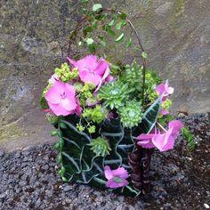 botanical purse - design Felicity - workshop in Bury St Edmunds, England, Francoise Weeks
