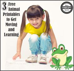 Combine pretend play with physical activity while you move and learn with these free animal printables. All you need to do is print the activities and you are set to go. Not only will you be encouraging physical activity, proprioceptive input and body awareness but children will also review math concepts and practice visual perceptual …