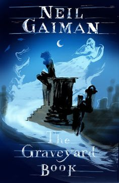 Omigosh. Beautiful Cover art by Dave McKean for the Graveyard book by Neil Gaiman. So lucky Neil and Dave allowed in on Neil's blog.