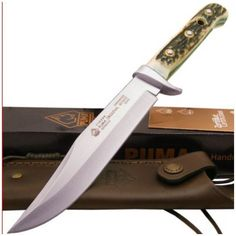 Puma Germany Genuine Staghorn Original Bowie Hunter/Hunting Knife 440C 116396 #Puma