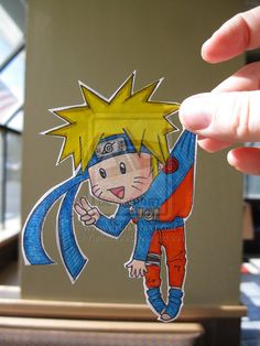 Naruto Uzumaki  :Paper Child: by Yuffie1972
