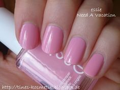 Essie Need A Vacation Essie Nail Polish, Nail Polishes, Manicures, Need A Vacation, Gorgeous Nails, Nail Ideas, Hair Makeup, Beauty, Collection