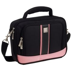 Urban Factory Vicky's Women's Bag for 10 Notebook - Black/Pink (VQ9964)