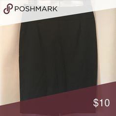 Classic High Waisted Pencil Skirt Back vented. Zip closure. Classic. Timeless. Super flattering! Mossimo Supply Co. Skirts Pencil