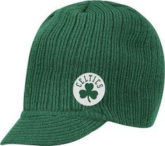 Boston Celtics Adidas NBA Green Visor Knit Hat  Amazon.co.uk  Sports    Outdoors 1b4e1b000212
