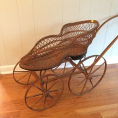 - A shoe shaped baby carriage!!!!