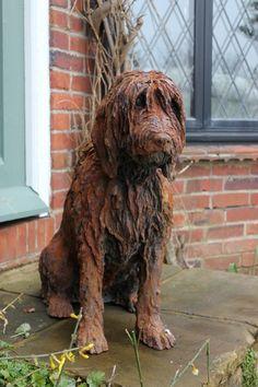 Art exhibitions in Surrey, exhibitions in Surrey, artists in Surrey, dog sculptures...Margaret Samuel