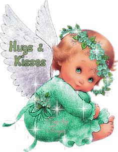 Hugs and kisses angel Animiertes Gif, Animated Gif, Angel Pictures, Cute Pictures, Eeyore Pictures, Hug Images, Hug Quotes, Hugs And Kisses Quotes, Night Quotes