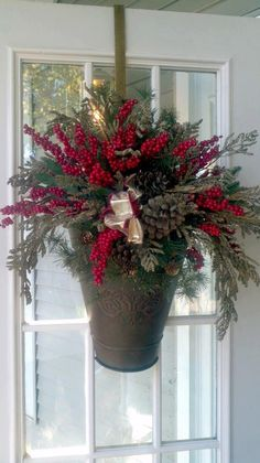 This Vintage Grape Basket looks beautiful with some evergreens and berries for the season, but in the spring change it out with hydrangea or forsythia and you have a completely new look!  It was $49.99 now only $29.99!  All home decor now 40% off and our chef-inspired food is 75% off! Get it while the getting is good! www.BiltmoreInspirations.com/aliciahatcher