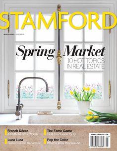 Stamford Magazine  2012  •   photo by Hulya Kolabas  •  art direction & page layout by Garvin Burke