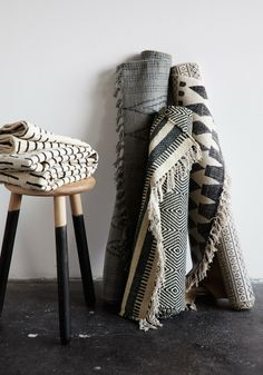 BODIE and FOU★ Le Blog: Inspiring Interior Design blog by two French sisters: Our rug collection styled & photographed by Hannah Trickett & Ola O Smit