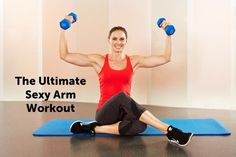 arm workout, biceps curls, arm exercises