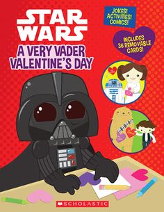 Star Wars: A Very Vader Valentine's Day (Paperback) by Trey King #valentinesday #reading