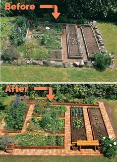Build Your Own Brick Garden Pathways | Posted By: SurvivalofthePrepped.com