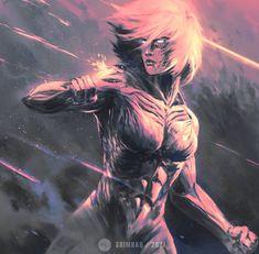 Attack On Titan Game, Watch Attack On Titan, Attack On Titan Fanart, Armin, Mikasa, Aot Titans, Titan Shifter, Female Titan, Funny Animal Videos