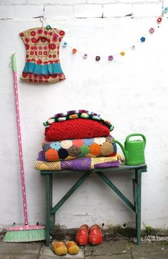 crochet  Chantal van der Velden-Mullens onto crochet and knitting. haken en breien