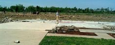 A tornado wiped the Smiths' home from its foundation in Vilonia, Ark. (Courtesy photos)