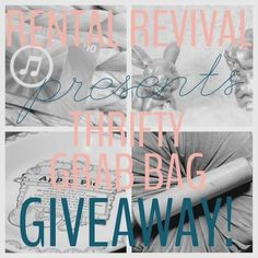 Enter to #win an adorable Rental Revival Thrifty Grab Bag including a $15 iTunes gift card! Ends TONIGHT!