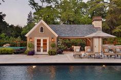 Someday -Pool house in my backyard